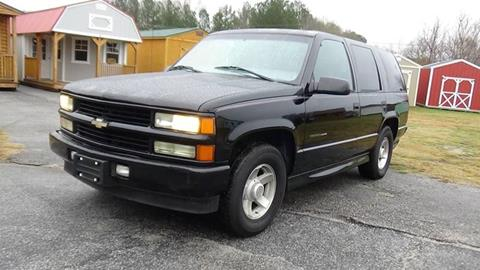 2000 Chevrolet Tahoe Limited/Z71 for sale at Britton Automotive Group in Loganville GA