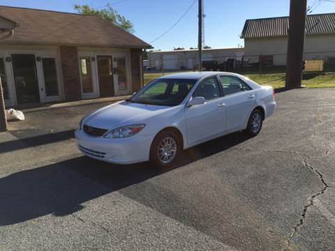 2003 Toyota Camry for sale at Britton Automotive Group in Loganville GA