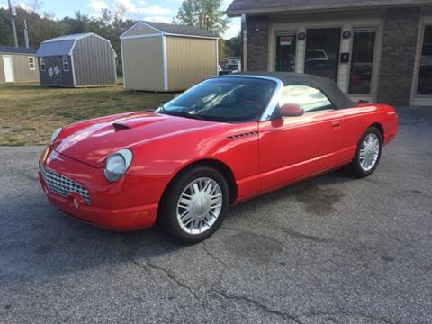2002 Ford Thunderbird for sale at Britton Automotive Group in Loganville GA