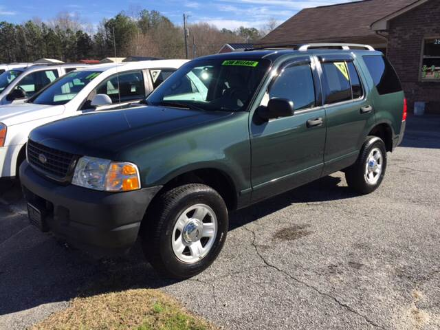 2003 Ford Explorer for sale at Britton Automotive Group in Loganville GA