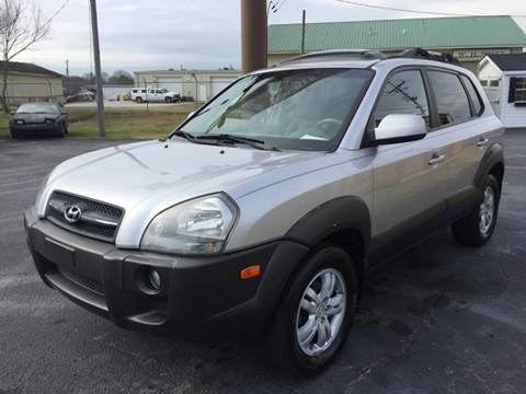 2006 Hyundai Tucson for sale at Britton Automotive Group in Loganville GA