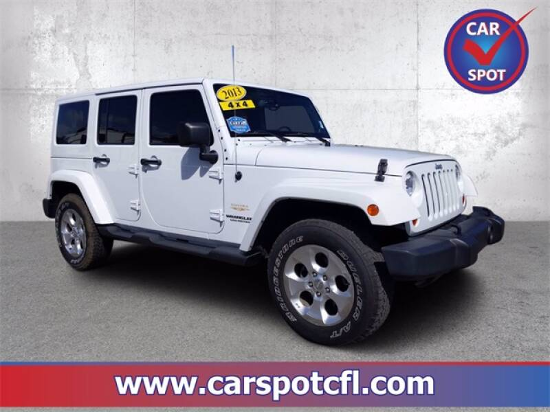 2013 Jeep Wrangler Unlimited for sale at Car Spot Of Central Florida in Melbourne FL