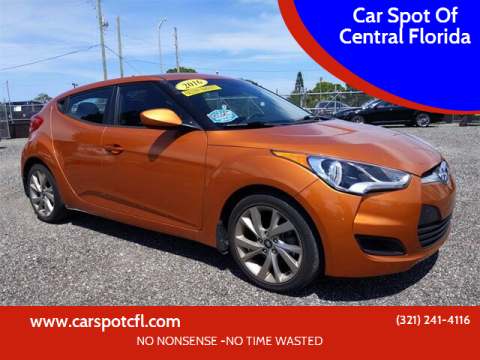 2016 Hyundai Veloster for sale at Car Spot Of Central Florida in Melbourne FL