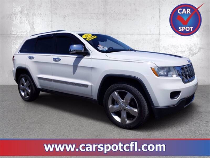 2012 Jeep Grand Cherokee for sale at Car Spot Of Central Florida in Melbourne FL