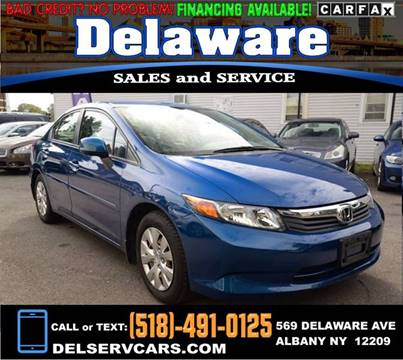 2012 Honda Civic for sale in Albany, NY