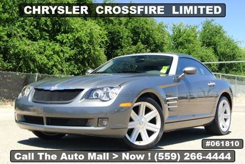 2006 Chrysler Crossfire for sale in Fresno, CA