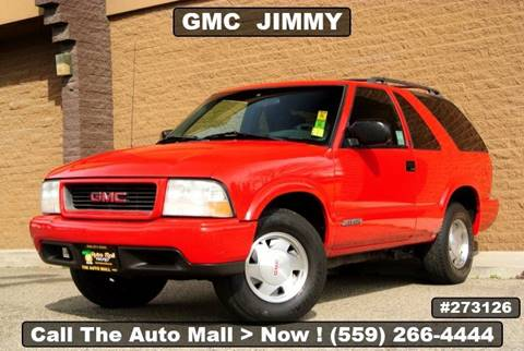 2000 GMC Jimmy for sale in Fresno, CA