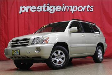 2003 Toyota Highlander for sale in St Charles, IL