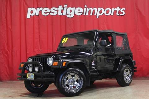 2003 Jeep Wrangler for sale in St Charles, IL