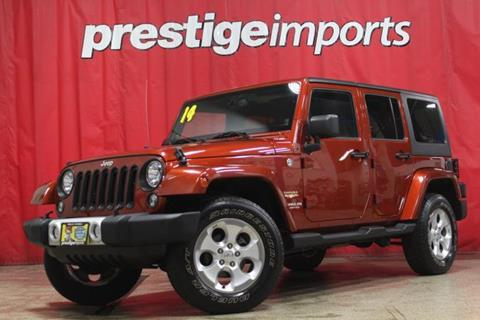 2014 Jeep Wrangler Unlimited for sale in St Charles, IL
