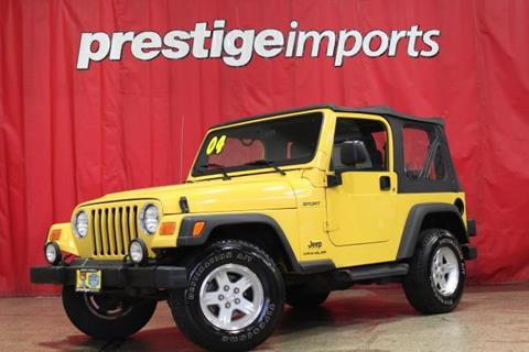 2004 Jeep Wrangler for sale in St Charles, IL