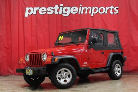 2006 Jeep Wrangler for sale in St Charles, IL