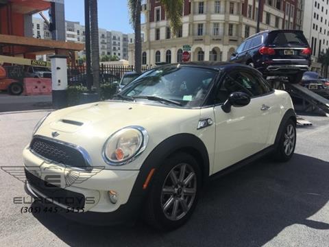2012 MINI Cooper Coupe for sale in Miami, FL