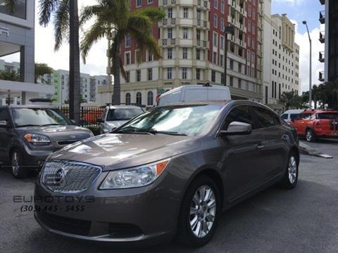 2012 Buick LaCrosse for sale in Miami, FL