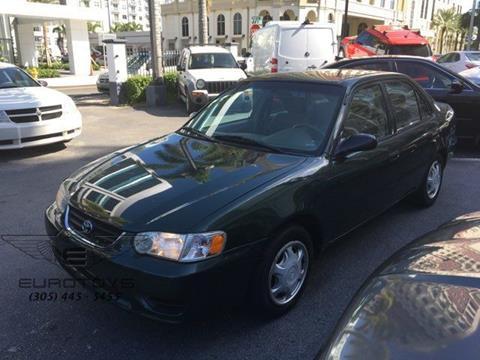 2002 Toyota Corolla for sale in Miami, FL