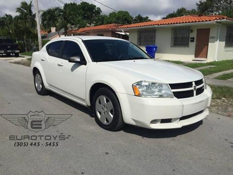 2009 Dodge Avenger for sale in Miami, FL