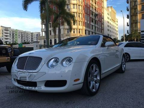 2008 Bentley Continental GTC for sale in Miami, FL