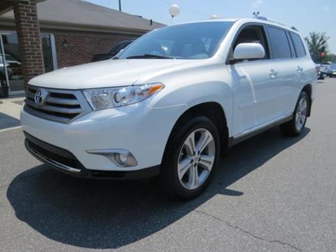2012 Toyota Highlander for sale in Mooresville, NC