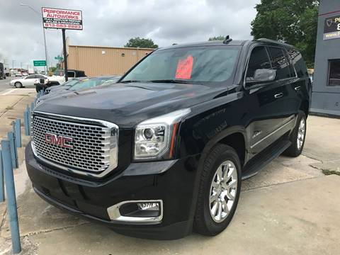 2016 GMC Yukon for sale at Performance Autoworks in Tampa FL