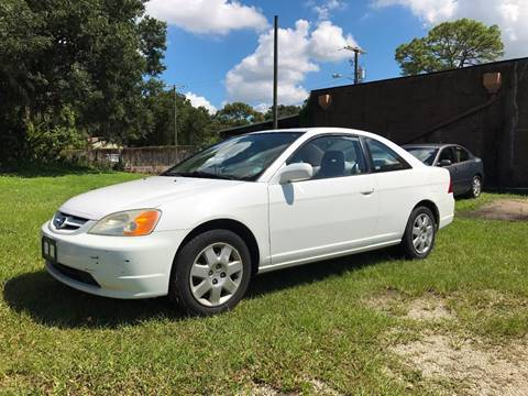 2002 Honda Civic for sale at Performance Autoworks in Tampa FL