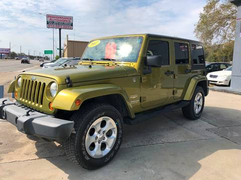 2007 Jeep Wrangler Unlimited for sale at Performance Autoworks in Tampa FL
