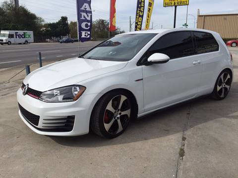 2015 Volkswagen Golf GTI for sale at Performance Autoworks in Tampa FL