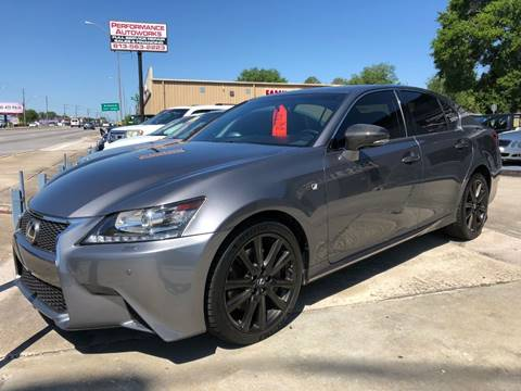 2013 Lexus GS 350 for sale at Performance Autoworks in Tampa FL
