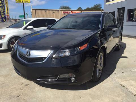 2014 Acura TL for sale at Performance Autoworks in Tampa FL