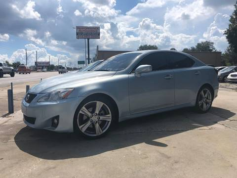 2012 Lexus IS 250 for sale at Performance Autoworks in Tampa FL