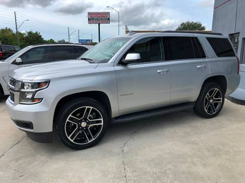 2018 Chevrolet Tahoe for sale at Performance Autoworks in Tampa FL