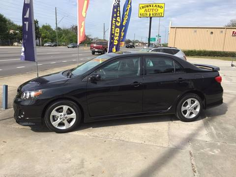2013 Toyota Corolla for sale at Performance Autoworks in Tampa FL