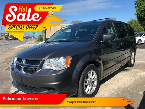 2016 Dodge Grand Caravan for sale at Performance Autoworks in Tampa FL