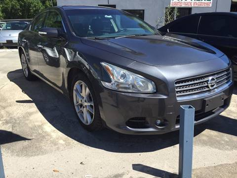 2011 Nissan Maxima for sale at Performance Autoworks in Tampa FL