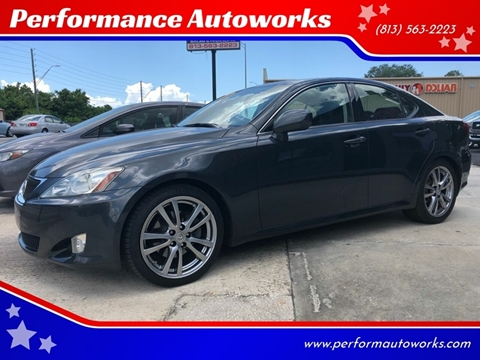 2008 Lexus IS 250 for sale at Performance Autoworks in Tampa FL