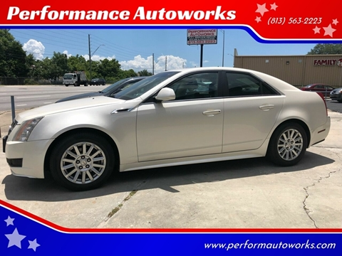 2011 Cadillac CTS for sale at Performance Autoworks in Tampa FL