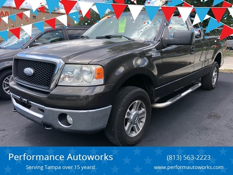 2007 Ford F-150 for sale at Performance Autoworks in Tampa FL