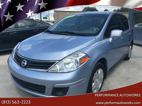 2010 Nissan Versa for sale at Performance Autoworks in Tampa FL