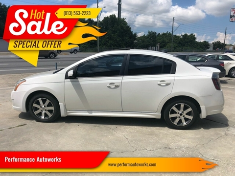 2012 Nissan Sentra for sale at Performance Autoworks in Tampa FL