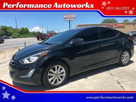 2015 Hyundai Elantra for sale at Performance Autoworks in Tampa FL