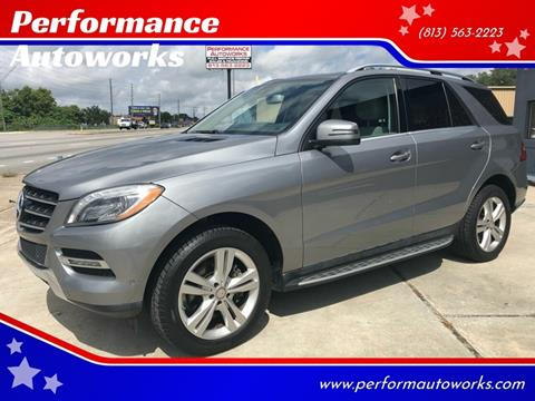 2014 Mercedes-Benz M-Class for sale at Performance Autoworks in Tampa FL