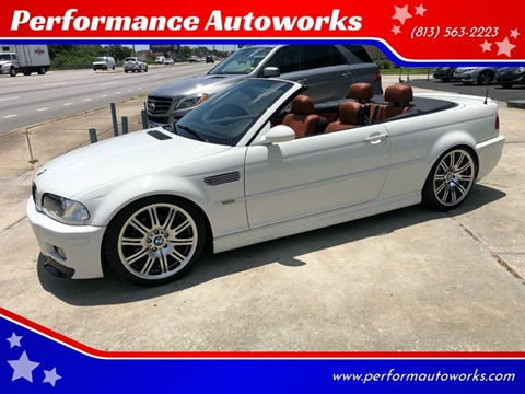 2006 BMW M3 for sale at Performance Autoworks in Tampa FL