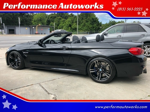 2015 BMW M4 for sale at Performance Autoworks in Tampa FL