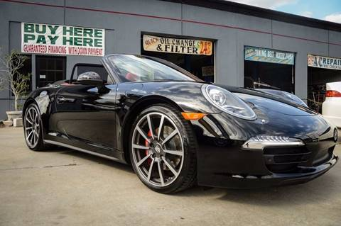 2014 Porsche 911 for sale at Performance Autoworks in Tampa FL
