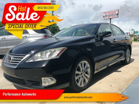 2010 Lexus ES 350 for sale at Performance Autoworks in Tampa FL