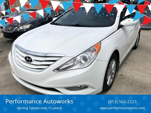 2013 Hyundai Sonata for sale at Performance Autoworks in Tampa FL