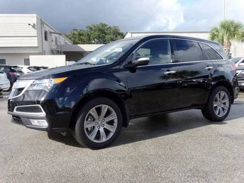 2013 Acura MDX for sale at Performance Autoworks in Tampa FL