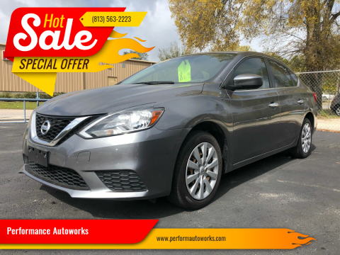2016 Nissan Sentra for sale at Performance Autoworks in Tampa FL