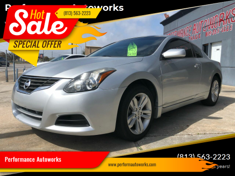 2013 Nissan Altima for sale at Performance Autoworks in Tampa FL