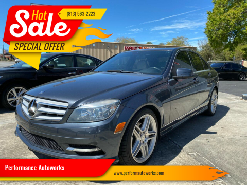 2011 Mercedes-Benz C-Class for sale at Performance Autoworks in Tampa FL