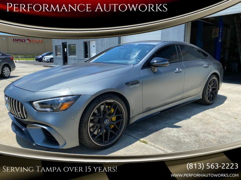 2019 Mercedes-Benz AMG GT for sale at Performance Autoworks in Tampa FL